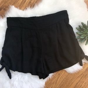 Free People Tie Side Shorts